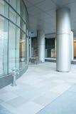 Entrada do prédio de escritórios Foto de Stock Royalty Free