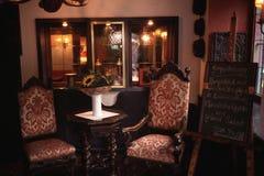 Entrada do restaurante em Alemanha Foto de Stock Royalty Free