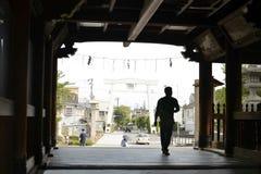 Entrada do santuário em Nara Foto de Stock