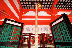 A entrada do santuário famoso Fotografia de Stock Royalty Free