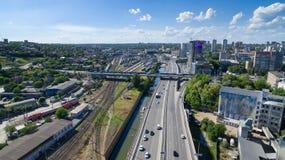 Entrada do sul a Rostov-On-Don Rússia Fotografia de Stock