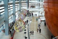 A entrada do teatro da ópera de Copenhaga Fotos de Stock