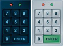 Entrada do teclado Imagens de Stock Royalty Free