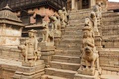Entrada do templo Hindu fotos de stock royalty free