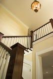 Entrada e escadas foto de stock