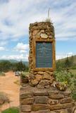 Entrada a El Fuerte de Samaipata (fuerte Samaipata), Bolivia fotografía de archivo