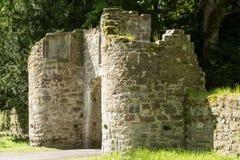 Entrada en castillo del scone Foto de archivo libre de regalías