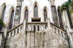 Entrada en Christian Monastery Fotografía de archivo libre de regalías