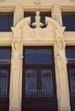 Entrada en el palacio Foto de archivo libre de regalías