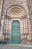Entrada en la iglesia de los santos Cyril y Methodius Foto de archivo