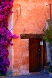 Entrada en la misión Carmel Fotos de archivo libres de regalías