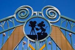 Entrada en los estudios de Walt Disney Imágenes de archivo libres de regalías