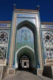 Entrada en mezquita Fotos de archivo libres de regalías