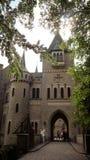 Entrada en un castillo histórico Schloss Marienburg en Baja Sajonia, Alemania, Fotos de archivo libres de regalías
