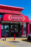Entrada feito por encomenda do sinal dos alimentos frescos de Sheetz Fotografia de Stock Royalty Free
