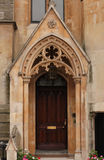 Entrada gótica Imagen de archivo libre de regalías