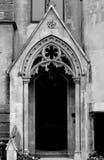 Entrada gótica Foto de archivo libre de regalías