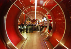 Entrada a Gordon Ramsey Steak House Restaurant en el hotel y el casino de París en Las Vegas Imágenes de archivo libres de regalías