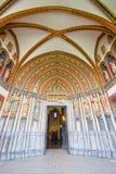 Entrada grande de la catedral Foto de archivo