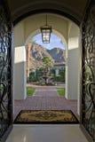 Entrada Hall On Elegant House imagem de stock royalty free