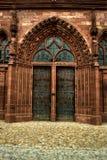 Entrada HDR da igreja de Basileia Imagens de Stock Royalty Free