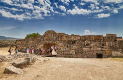 Entrada a Hierapolis Fotografía de archivo