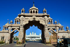 Entrada india del templo fotografía de archivo libre de regalías
