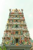 Entrada indiana do templo com deuses Hindu fotos de stock royalty free