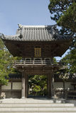 Entrada japonesa do jardim de chá fotos de stock