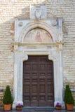 Entrada a la abadía de Farfa Fotografía de archivo
