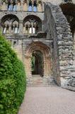 Entrada a la abadía de Jedburgh Fotos de archivo