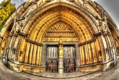 Entrada a la abadía de Westminster Foto de archivo libre de regalías