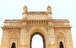 Entrada a la capilla de la India en la orilla del mar Bombay la India Fotografía de archivo