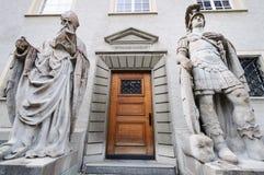 Entrada a la capilla del St. Gallen Fotografía de archivo