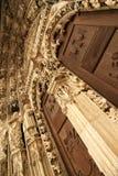 Entrada a la catedral de Regensburg Fotografía de archivo libre de regalías