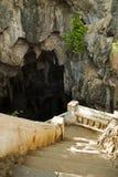Entrada a la cueva Imagen de archivo