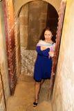 Entrada a la fortaleza Fotografía de archivo libre de regalías