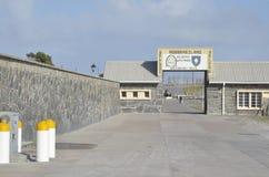 Entrada a la isla de Robben imágenes de archivo libres de regalías