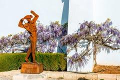 Entrada a la plaza de Toros en Ronda, España imagen de archivo libre de regalías