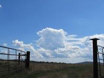 Entrada a las nubes Fotografía de archivo libre de regalías