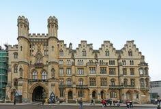 Entrada lateral de la abadía de Westminster Fotografía de archivo