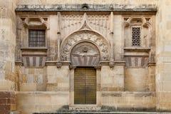 Entrada lateral de la mezquita foto de archivo libre de regalías