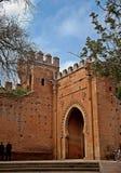 Entrada losu angeles Necropolis De Chellah en Rabat zdjęcie royalty free