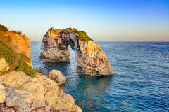 Entrada a Mallorca - Es Pontas Foto de archivo libre de regalías