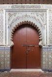 Entrada marroquí en Marrakesh Imágenes de archivo libres de regalías