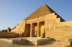 Entrada a Mastaba Foto de archivo