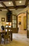 Entrada moderna da cozinha Fotografia de Stock Royalty Free