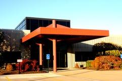 Entrada moderna del edificio del offce Imagenes de archivo
