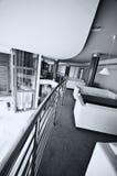 Entrada moderna do hotel imagens de stock royalty free