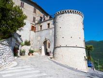 Entrada Montasola do castelo Fotos de Stock Royalty Free